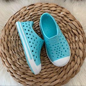 "WONDER NATION | Blue ""Starry Beach Sneakers"""